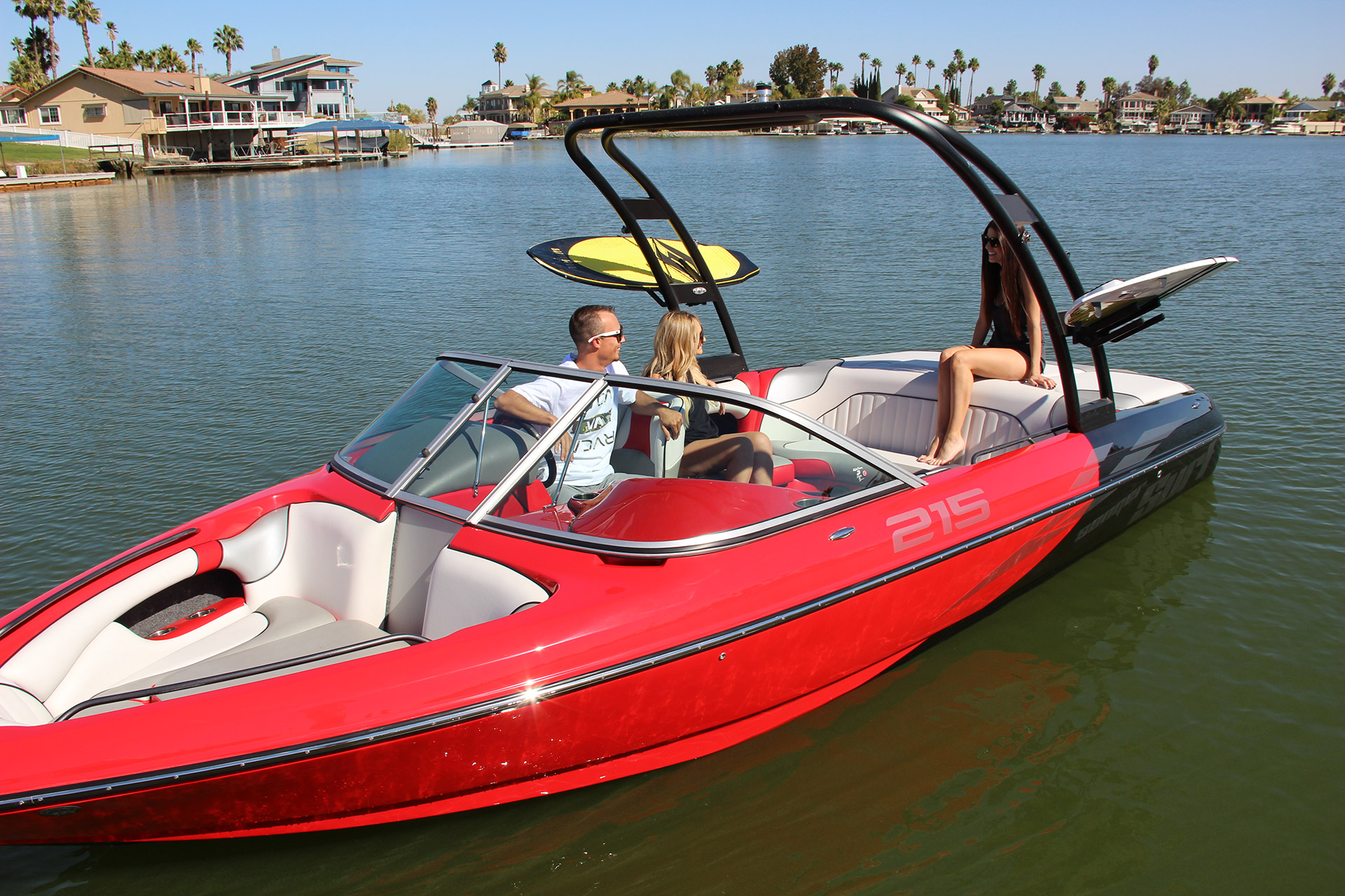 Sanger V215 S Wakesurf Wakeboard Boats Sanger Boats